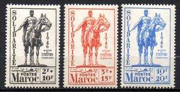 Col13    Maroc  N° 241 à 243  Neuf XX MNH Luxe Cote 10€ - Morocco (1891-1956)