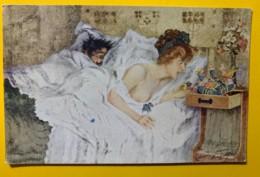 8154 - Maurice Neumont Le Petit Noël De La Jeune Mariée - Peintures & Tableaux