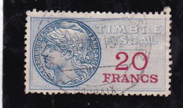 T.F.S.U N°41 - Revenue Stamps