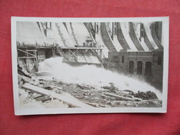 RPPC Unknown Dam Construction    Ref 3247 - Postcards