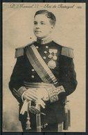 1909 Portugal Rei Manuel 2nd Postcard. Porto - Tingsdahl, Öland, Sweden - 1910 : D.Manuel II