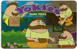Malaysia - CITIFON - Yokies - Papa Yoke, 10RM, (Batch AH 98015) 1998, Used - Malaysia