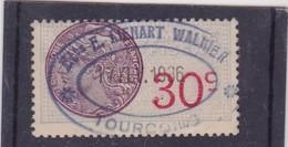 T.F.S.U N°62 - Revenue Stamps