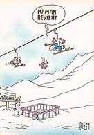 PIEM - Les Mordus Du Ski - Editions F. Nugeron N'17 - Télésièges - Winter Sports
