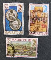 ILE MAURICE - MAURITIUS - 1983 - YT 570 à 572 - SERIE COURANTE - Mauritius (1968-...)