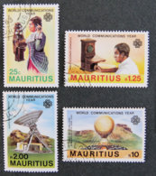 ILE MAURICE - MAURITIUS - 1983 - YT 573 à 576 - WORLD COMMUNICATIONS YEAR - Mauritius (1968-...)