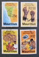ILE MAURICE - MAURITIUS - 1983 - YT 577 à 580 - JOURNEE DE LA NAMIBIE - Mauritius (1968-...)
