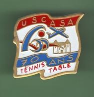 TENNIS DE TABLE *** USCASA *** A002 - Tennis De Table
