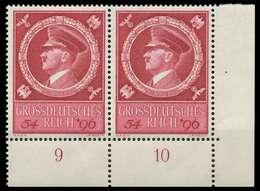 DEUTSCHES REICH 1944 Nr 887 Postfrisch WAAGR PAAR ECKE- X8B06C2 - Nuevos