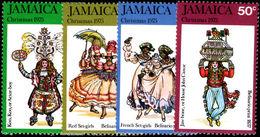 Jamaica 1975 Christmas 1st Series Unmounted Mint. - Jamaica (1962-...)