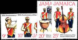 Jamaica 1977 Jamaica Military Band Unmounted Mint. - Jamaica (1962-...)