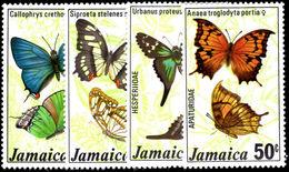 Jamaica 1978 Butterflies Unmounted Mint. - Jamaica (1962-...)