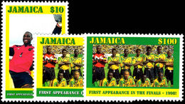 Jamaica 1998 World Cup Football Unmounted Mint. - Jamaica (1962-...)