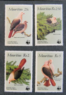 ILE MAURICE - MAURITIUS - 1985 - YT 631 à 634 ** - PIGEON ROSE DES MARES - Mauritius (1968-...)