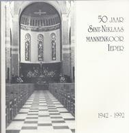 50 JAAR SINT-NIKLAAS MANNENKOOR IEPER 1942 - 1992 - Histoire