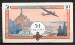 479-France Billet De 50 Vaillants - France