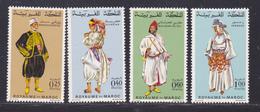 MAROC N°  565 à 568 ** MNH Neufs Sans Charnière, TB (D8757) Costumes - 1968 - Maroc (1956-...)