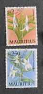 ILE MAURICE - MAURITIUS - 1986 - YT 660 + 661 - ORCHIDEES INDIGENES - Maurice (1968-...)