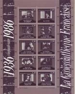 Francia 1986 - Cinema, Foglietto MNH** - Francia