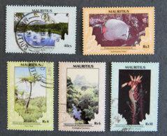 ILE MAURICE - MAURITIUS - 1989 - YT 707 à 711 - SERIE COURANTE - Mauritius (1968-...)