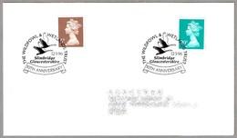 50th Anniv. THE WILDFOWL & WETLANDS TRUST - 50 Años Proteccion Humedales. Slimbridge 1996 - Protección Del Medio Ambiente Y Del Clima