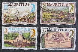 ILE MAURICE - MAURITIUS - 1989 - YT 712 à 715 - SERIE COURANTE - Mauritius (1968-...)