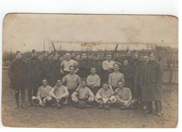 Belgisch Rijn Bezettings Leger 1921  Voetbalploeg Met Burm Kamiel Temse Fotokaart - Militaria