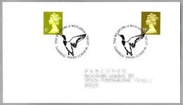 50th Anniv. THE WILDFOWL & WETLANDS TRUST - 50 Años Proteccion Humedales. Llanelli Dyfed 1996 - Protección Del Medio Ambiente Y Del Clima