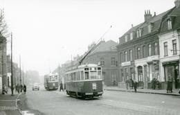 Tramways De Lille. Hellemmes. Cliché Jacques Bazin. 13-11-1955 - Tramways