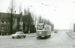 Tramways De Lille. Foire. Cliché Jacques Bazin. 06-02-1960 - Tramways