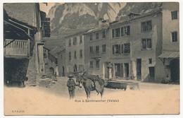 CPA - SEMBRANCHER (Suisse - Valais) - Rue à Sembrancher - VS Valais