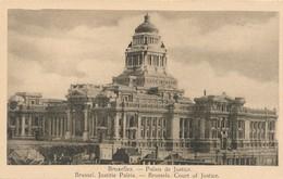 CPA - Belgique - Brussels - Bruxelles - Palais De Justice - Monuments, édifices
