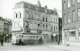 Tramways De Lille. Porte De Béthune. Cliché Jacques Bazin. 24-03-1955 - Tramways