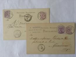 Chateau-salins 2EP 1877/1884 - Alsace-Lorraine