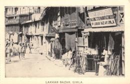 R060462 Lakkar Bazar. Simla. Dr. Yasin - Postcards