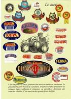Collection Originale De Plus De 300 étiquettes De MELON, En Principe Différentes, Collées Sur Support. TBE - Vieux Papiers