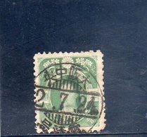 JAPON 1906-7 O - Usati