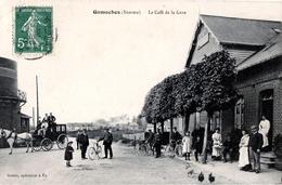 80. SOMME - GAMACHES. Le Café De La Gare. - Autres Communes