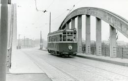 Tramways De Lille. Pont Royal Cliché Jacques Bazin. 22-12-1956 - Tramways