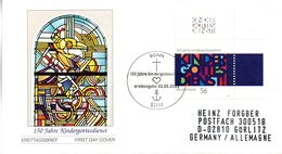 """BRD Schmuck-FDC: """"150 Jahre Kindergottesdienste"""", Mi.2256 ESSt 2.5.2002 BONN - [7] République Fédérale"""
