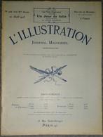 L'Illustration 4181 21 Avril 1923 Poincaré à Dunkerque/Rugby France-Irlande/Maroc/Lucien Jonas/Bilma/Bashkirtseff Marie - Journaux - Quotidiens