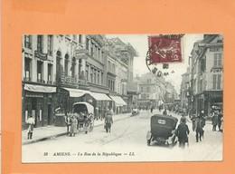 CPA - Amiens - La Rue De La République - Amiens
