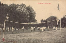 Var, Cogolin, Au Foot Ball      (bon Etat) - Cogolin