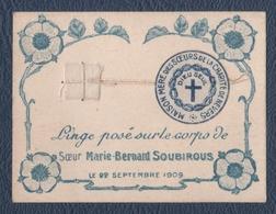 Reliquaire.Soeur Marie-Bernard Soubirous.Sainte Bernadette Soubirous. - Religion & Esotericism