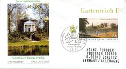 "BRD Schmuck-FDC: ""100 Jahre Deutsches Freimaurermuseum, Bayreuth"", Mi.2247 ESSt 4.4.2002 BONN - [7] République Fédérale"