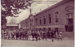 (21). Dijon. Ecole Primaire Superieure Et Ecole Pratique. Cour De Recreation (2) - Dijon