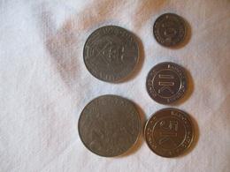 Congo: 1K & 5 K (makuta) 1961 - 1967 - Congo (Rép. Démocratique, 1964-70)
