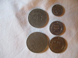 Congo: 1K, 5 K, 10K & 20K (makuta) 1967 - 75 - Congo (Repubblica Democratica 1964-70)