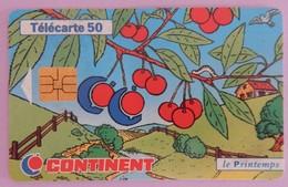 """TELECARTE 03/98 SANS UNITE""""CONTINENT"""" - Frankrijk"""