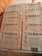 Lot Journaux Madagascar 1958 : Lakroa - Livres, BD, Revues